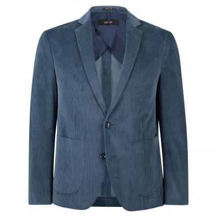 Slim-Fit Sakko 'Cidanti' in Cord-Optik blau (65) | 50