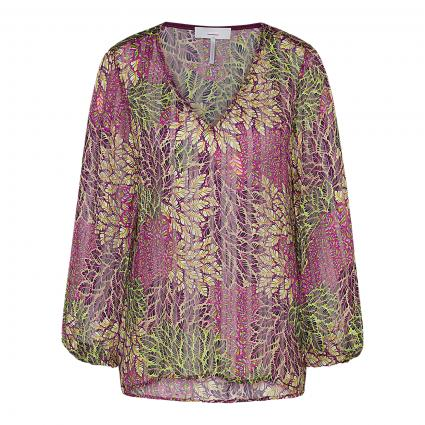Bluse 'Cithaso' mit All-Over Druck beere (53) | 36