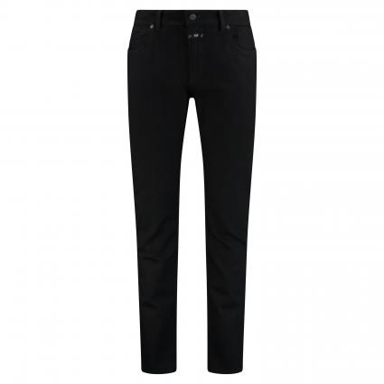 Slim-Fit Jeans im 5-Pocket Style schwarz/blau-schwarz (BBK black/black) | 32