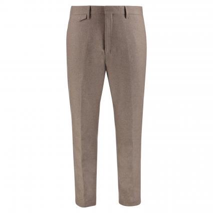 Chino in Cropped-Länge camel (255 deep dune) | 33