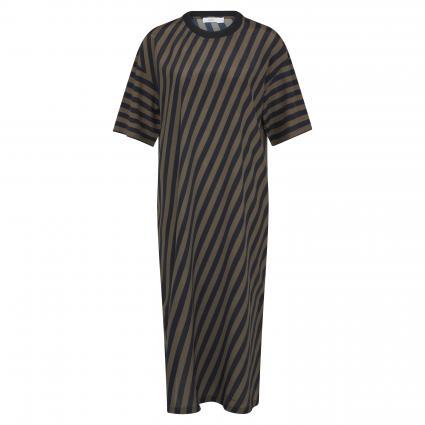 Kleid 'Miranda' mit Streifenmuster schwarz (100 black) | M