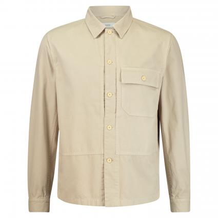 Hemd mit Rücken-Stickerei beige (259 barely beige) | XL