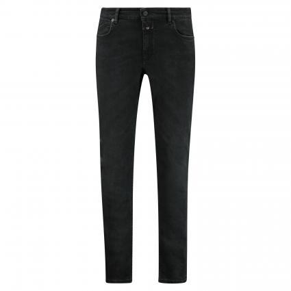 Slim-Fit Jeans 'Unity' schwarz/blau-schwarz (BBK black/black) | 34