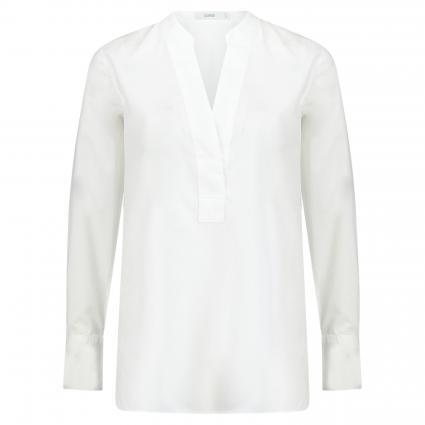 Bluse 'Darcy' mit V-Ausschnitt weiss (200 white) | XS
