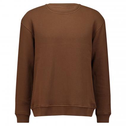 Sweatshirt mit kleinem Logostitching camel (789 fallow brown)   XL