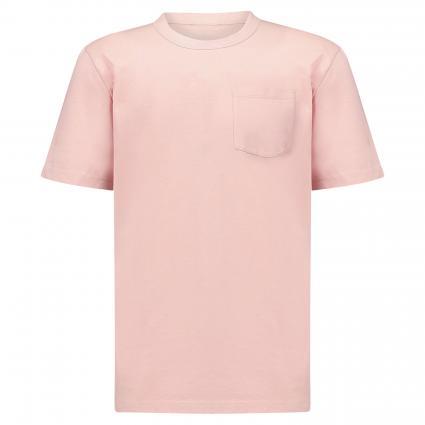 T-Shirt mit Brusttasche rose (841 soft shell) | M
