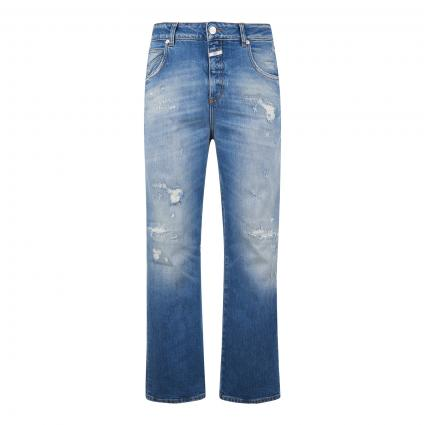 Relaxed-Fit Jeans 'Gill' in Destroyed-Optik blau (MBL mid blue)   27