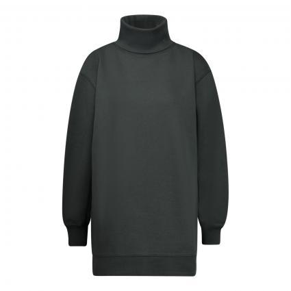Sweatshirt mit Rollkragen grün (605 sacramento green) | S
