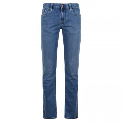 Reg-Fit Jeans 'Pipe' blau (860 turquoise) | 31 | 30