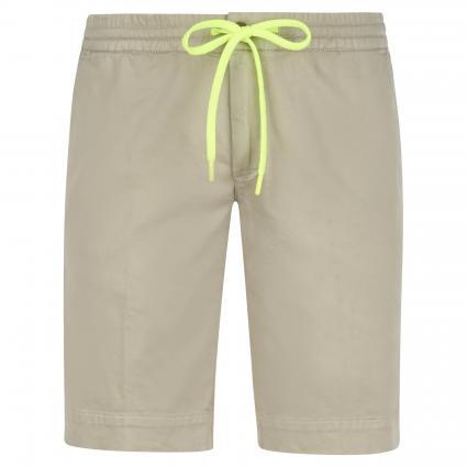 Slim-Fit Short mit elastischem Bund beige (530 beige) | 30