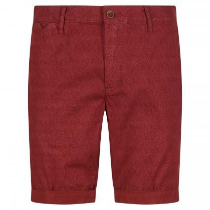 Shorts in Chino-Optik rot (350 red) | 34