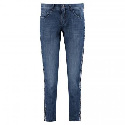Regular-Fit Jeans 'Patti Chain Galon' blau (3358 mid blue used b)   40   31