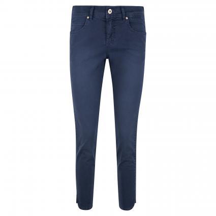 Slim-Fit Hose 'Ornella' marine (2205 midnight blue u)   38