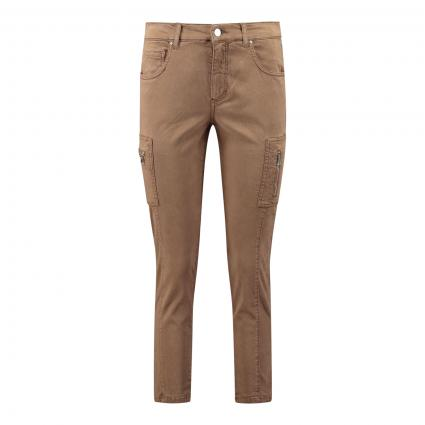 Jeans 'Ornella Cargo' camel (724 toffee)   44