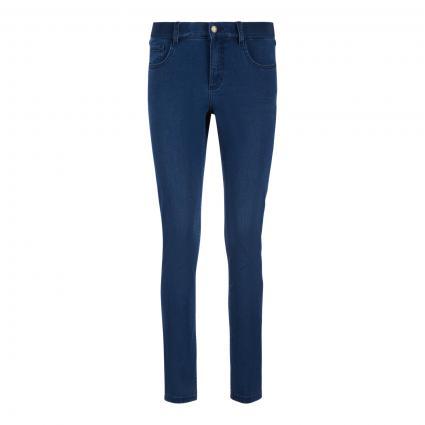 Jeans mit elastischem Bund  blau (3358 mid blue used) | 0