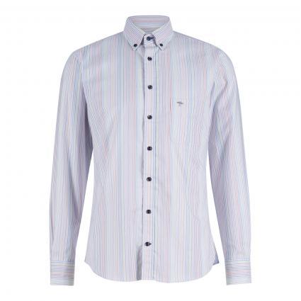Gemustertes Hemd mit Button-Down Kragen  divers (6065 multicolour str) | S