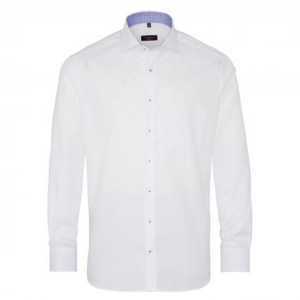 Modern-Fit Hemd mit All-Over Muster  weiss (00 weiss) | 39