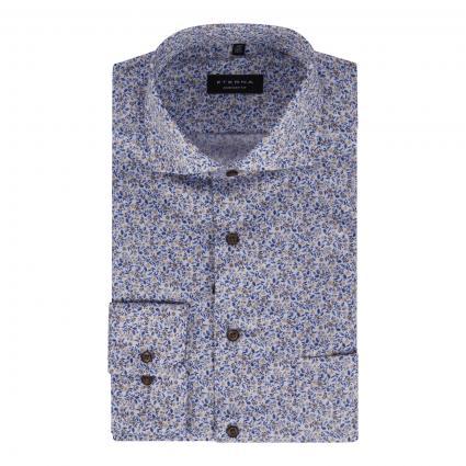 Comfort-Fit Hemd mit Musterung ecru (22 champagner) | 46