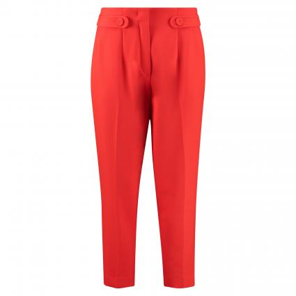 Hose mit Zierriegel rot (348 FIRE RED) | 38