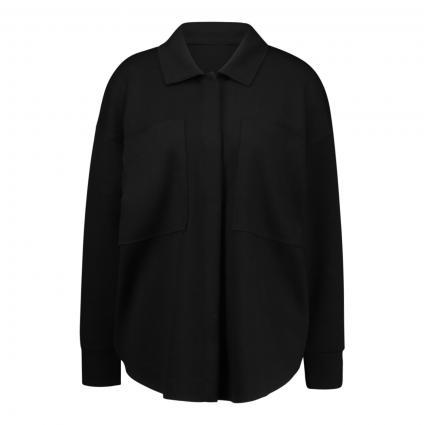 Jersey-Blazer im Overshirt-Stil schwarz (999 black) | 42