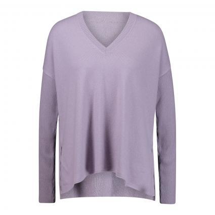Pullover mit V-Ausschnitt flieder (721 quartz) | 44