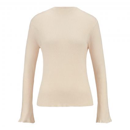 Pullover mit Turtle-Neck beige (810 opaline) | 42