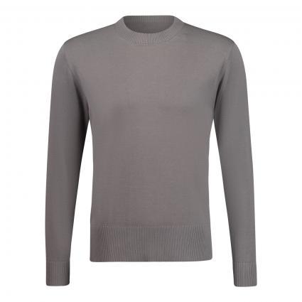 Pullover 'Vincent' mit leichtem Stehkragen anthrazit (6200 grau) | M