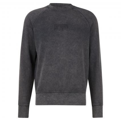 Sweatshirt 'Florenz' mit Logo Druck anthrazit (6200 grau) | XXL