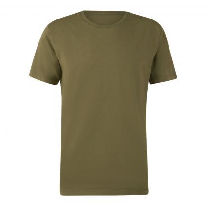 T-Shirt 'Samuel' in melierter Optik grün (2200 grün) | S