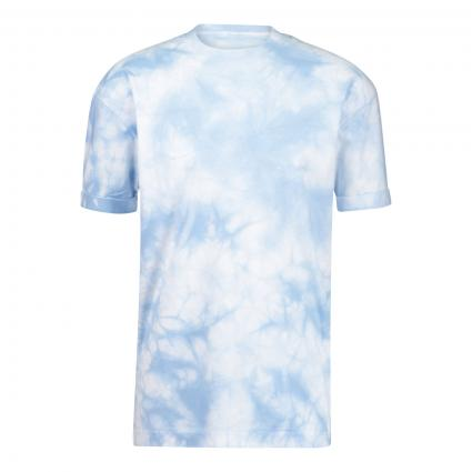 T-Shirt 'Thilo' mit All-Over Print  blau (3502 blau)   L