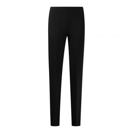 Straight-Leg Hose 'Alive' mit Bügelfalten schwarz (1000 schwarz)   30