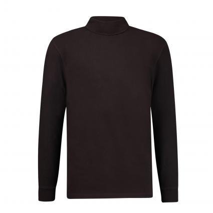 Rollkragen Shirt 'Emanuel'  braun (1104 braun) | L