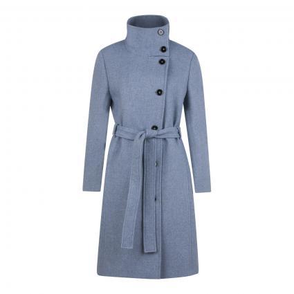 Mantel 'Lewisham' mit Stehkragen blau (3603 blau) | 38