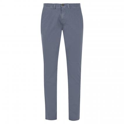 Slim-Fit Chinohose 'Jorck' blau (759 SMOKY-BLUE) | 34 | 32