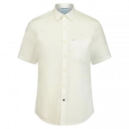 Regular-Fit Hemd mit Kurzarm weiss (9000 9000) | XL