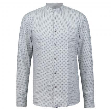 Modern-Fit Hemd mit Stehkragen in All-Over Musterung divers (9025 9025) | XL