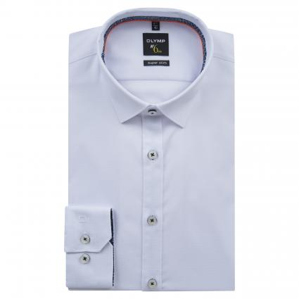 Slim-Fit Hemd aus Baumwolle weiss (00 weiss) | 36