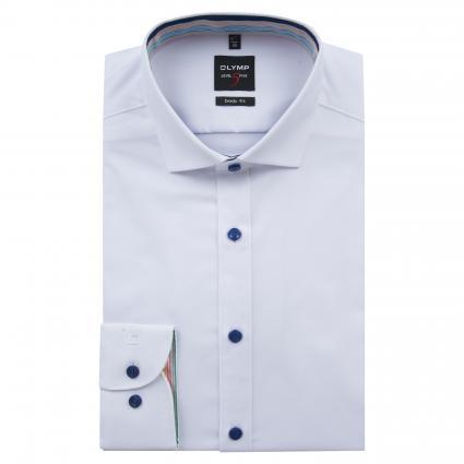 Slim-Fit Hemd aus Baumwolle weiss (00 weiss) | 43