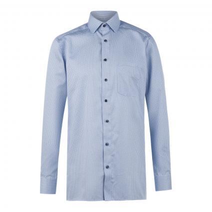 Modern-Fit Hemd mit Kentkragen blau (11 bleu) | 46