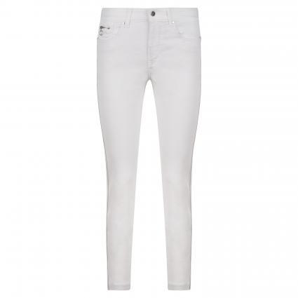Slim-Fit Jeans 'Dream' weiss (D010 white denim) | 42 | 27