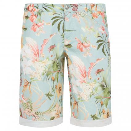 Shorts mit floraler Musterung blau (143B light ice blue) | 44 | 09
