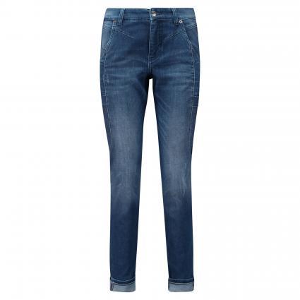 Relaxed Slim-Fit Jeans 'Rich' blau (D605 super authentic) | 40 | 28