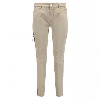 Hose 'Rich' mit Zipper-Taschen beige (228R windspray beige)   44   28