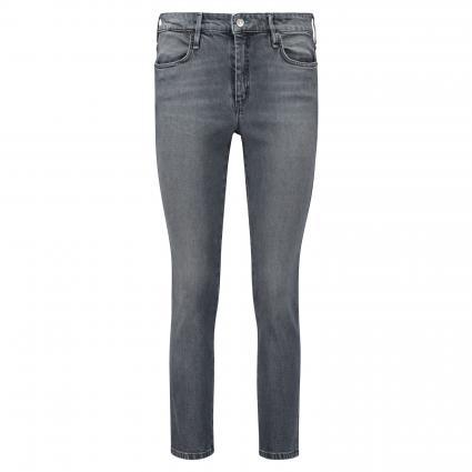 Slim-Fit Jeans 'Shape' anthrazit (D910 authentic carbo)   42