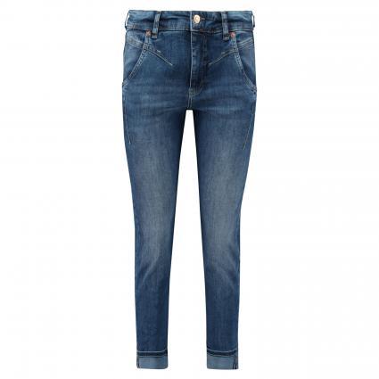 Slim-Fit Jeans mit Waschung blau (D594 basic fancy was) | 40 | 28