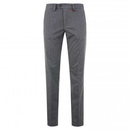 Modern-Fit Hose 'Lennox' mit Musterung grau (074F steel blue herr)   33   34