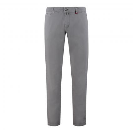 Modern-Fit Chino 'Lennox' grau (055R metal grey PPT) | 31 | 30