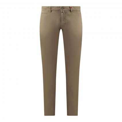 Modern-Fit Chino 'Lennox' beige (247R military beige) | 36 | 30
