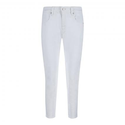 Slim-Fit Jeans 'Lounge' weiss (010 white) | 36