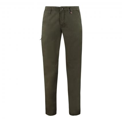 Modern-Fit Chino 'Lennox Worker' oliv (358R martini olive P) | 33 | 34